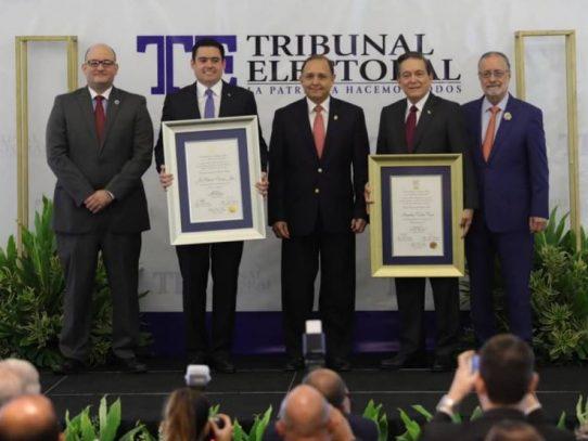Cortizo recibe credenciales como presidente electo para el período 2019 – 2024