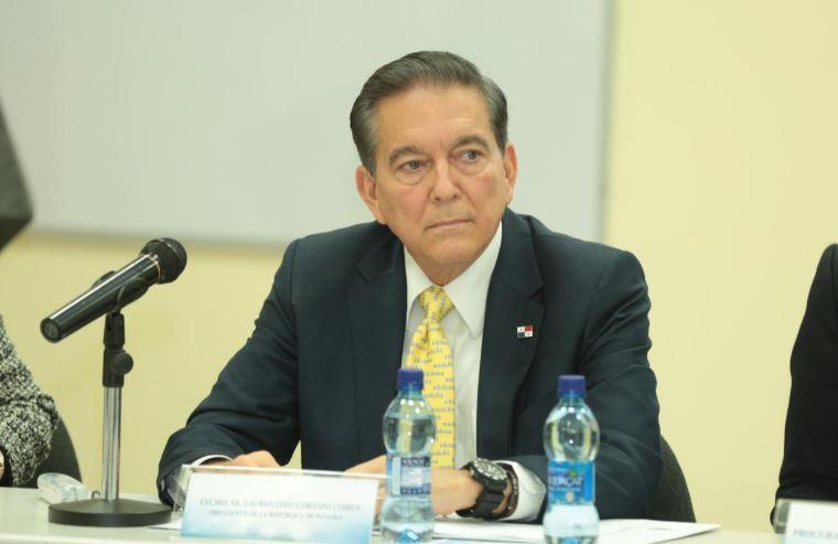 Cortizo asegura que su gobierno realiza esfuerzos para combatir la delincuencia