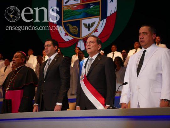 Laurentino Cortizo toma posesión como presidente para el periodo 2019-2024