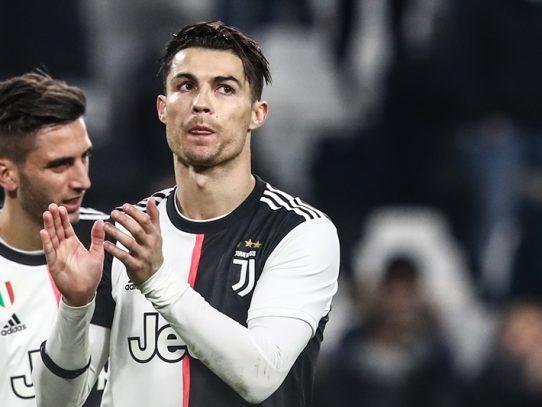 Cristiano Ronaldo sigue siendo duda a un día del Juventus-Barcelona