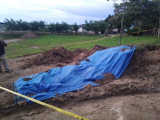 MiCultura inspecciona hallazgo arqueológico en Antón
