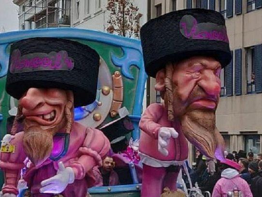 Israel aplaude retirada del carnaval belga de Alost de la lista de la Unesco
