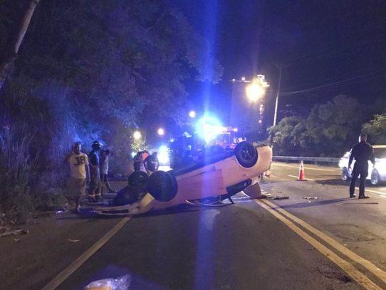 Muerto por accidente de tránsito en Colón