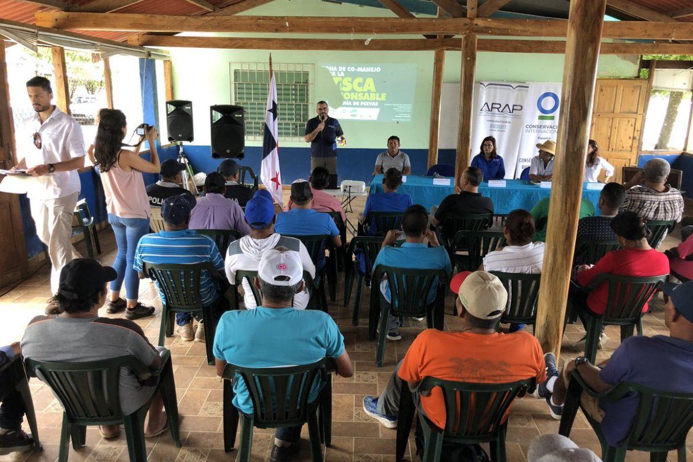 Panamá lanza primera Zona de Co-Manejo para la Pesca Responsable