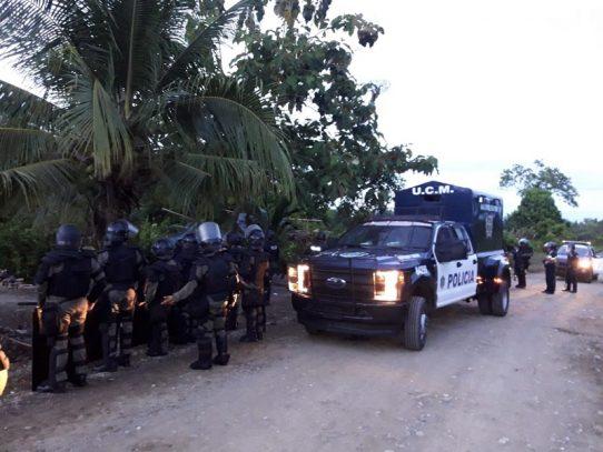 Desalojan invasores de finca Malagueto en Chiriquí