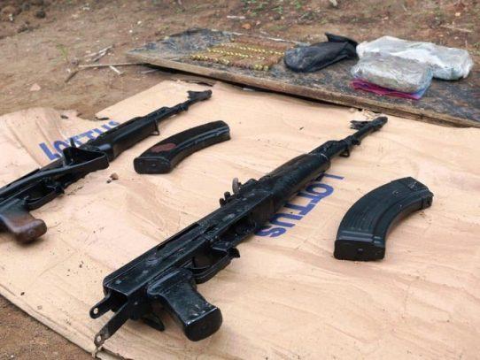 PN: Más de 70 personas detenidas y 27 armas decomisadas