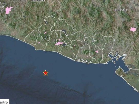 Terremoto de magnitud 6,6 sacude El Salvador y emiten alerta de tsunami