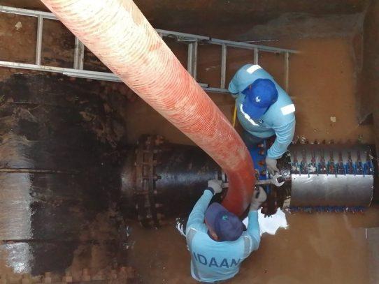 Baja producción de la potabilizadora de Chilibre por trabajos del IDAAN