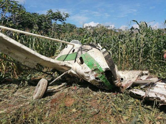 Caída de avioneta deja un herido en la provincia de Chiriquí