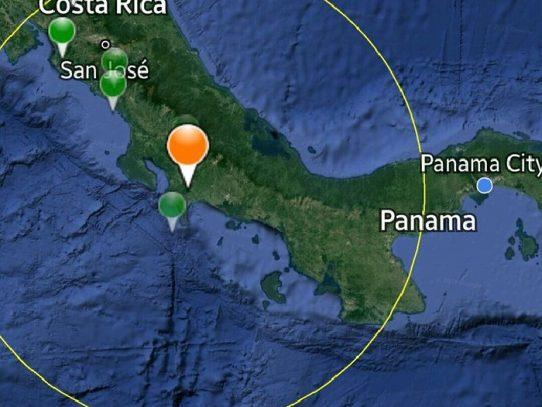 Declaran alerta verde para la provincia de Chiriquí por eventos sísmicos