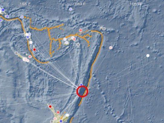 Nueva Zelanda cancela alerta de tsunami tras sismo de magnitud 7,2
