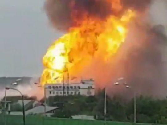 Seis heridos en el incendio de una central térmica cerca de Moscú