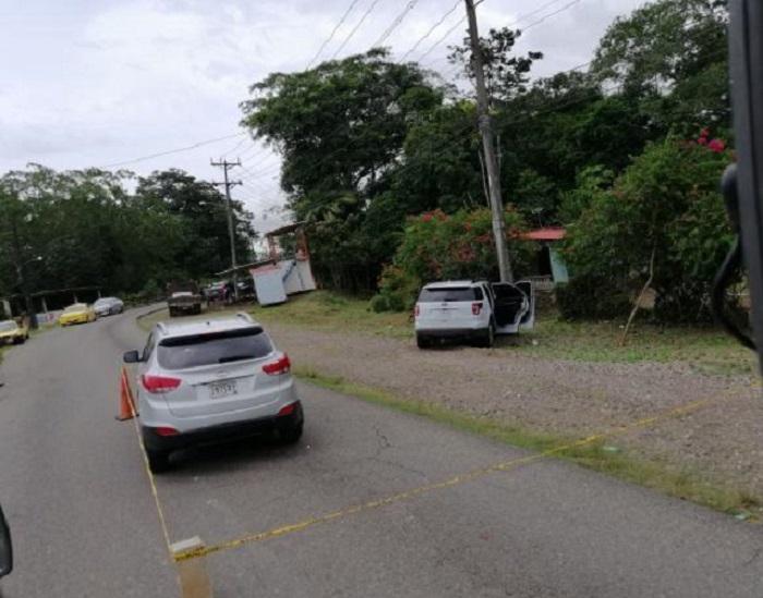 Balacera en  Puerto Pilón en Colón