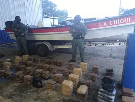 Decomisan al menos 200 paquetes de sustancia ilícita en Veracruz