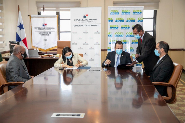 Mingob y Consejo Empresarial Logístico firman convenio de cooperación técnica