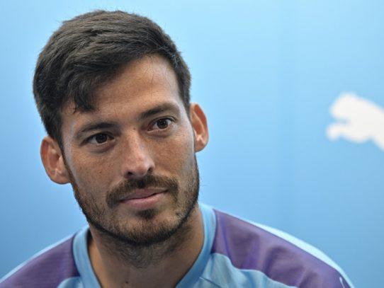 """""""Es uno de los mejores que he visto"""", dice Guardiola sobre Silva"""