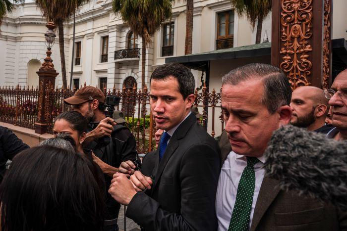 A pesar de prometer un cambio para Venezuela, Guaidó no conquista Davos