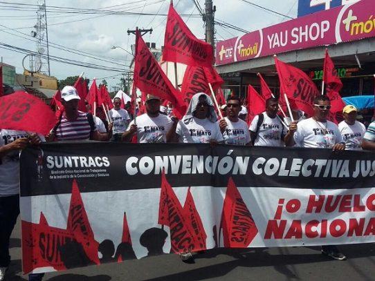 Marcha por el día del Trabajador recorrerá las calles capitalinas