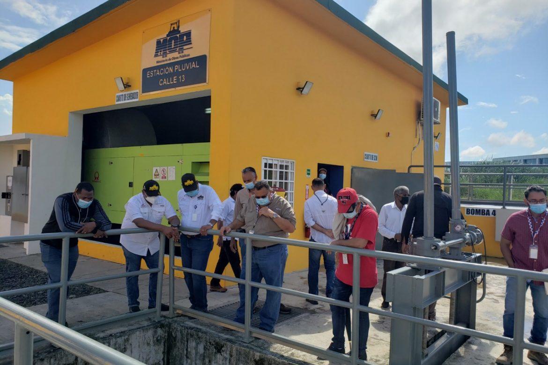 Nueva estación pluvial busca prevenir inundaciones en el Casco de Colón