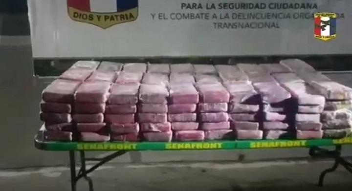 Decomisan 75 paquetes con droga en Chiriquí