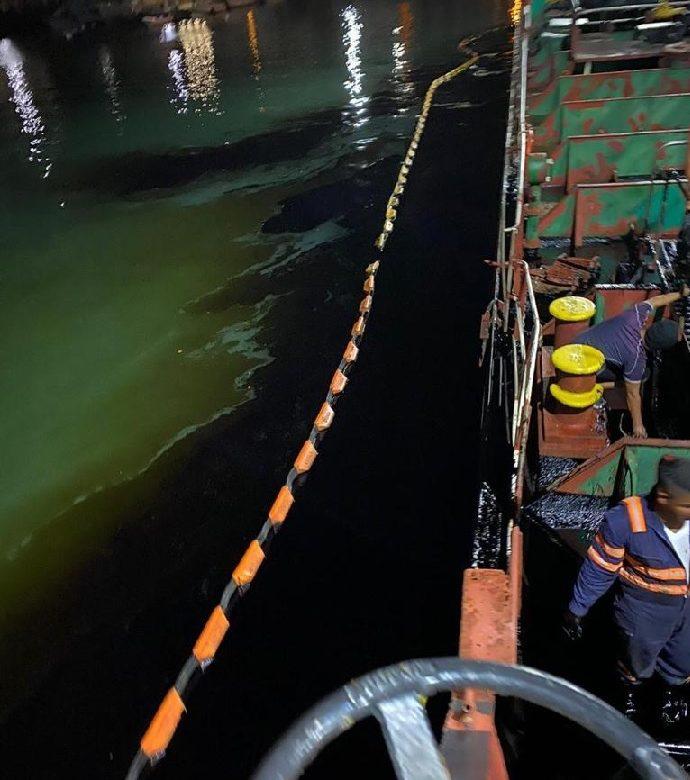 MiAmbiente inspeccionará área afectada por derrame en el Puerto PATSA