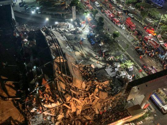 Diez muertos en el derrumbe de un hotel en China que servía de centro de cuarentena