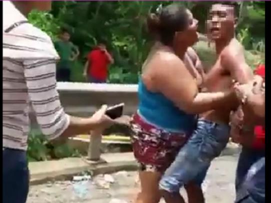 Sospechoso de asalto a trabajadores de ENSA se puso a llorar al ser detenido