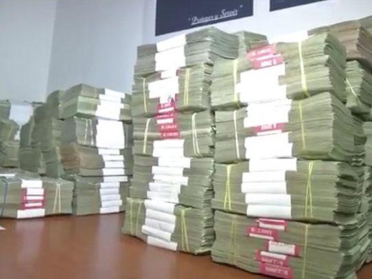 Detención provisional para colombiano que transportaba $1 millón 544 mil
