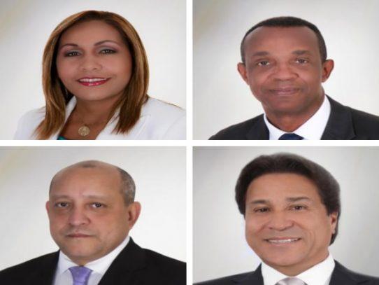 Impugnados Yanibel Ábrego, Leandro Ávila, Crispiano Adames y Pancho Alemán