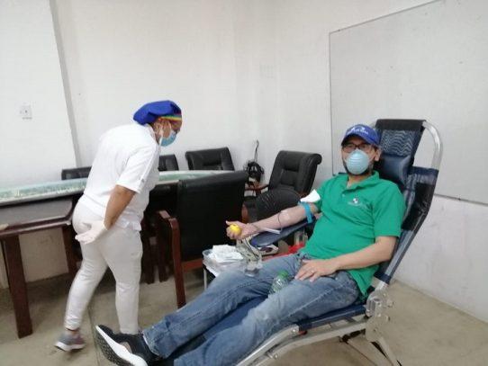 Bajo porcentaje de donantes en banco de sangre del complejo hospitalario