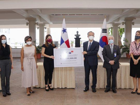 República de Corea dona insumos a Panamá para enfrentar el Covid-19