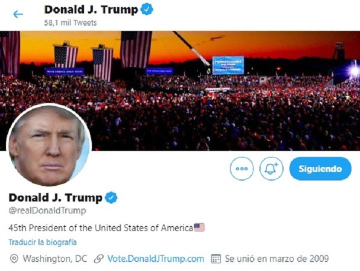 El ciudadano Donald Trump tendrá menos libertad en Twitter
