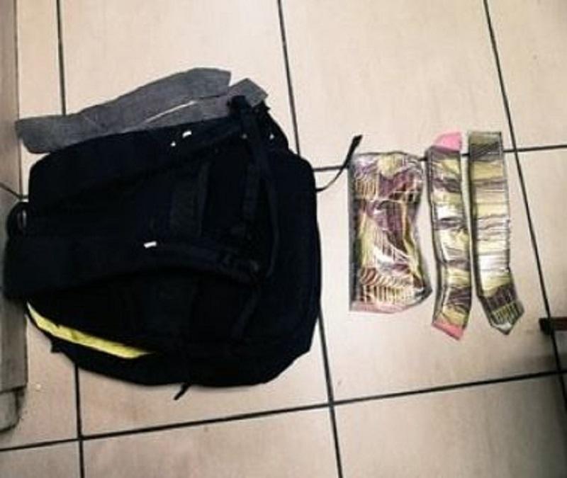 Dos colombianos aprehendidos con cocaína rosada en el Aeropuerto de Tocumen