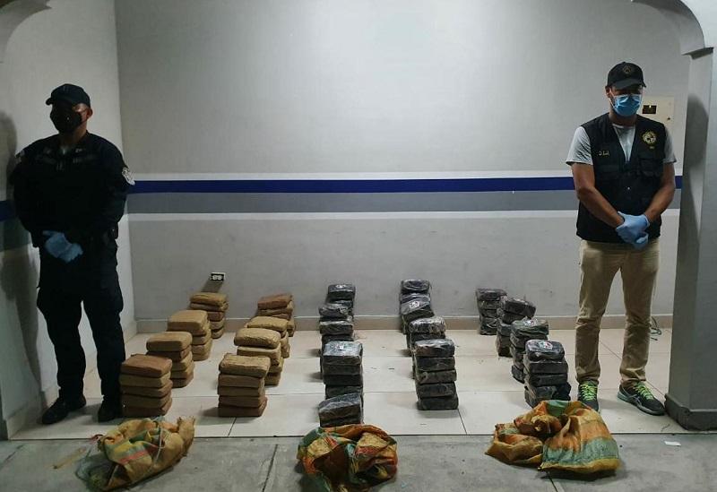 Incautan 103 paquetes de presunta droga en las Uvas de San Carlos