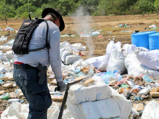 Colón: Cinco toneladas de cocaína han sido decomisadas hasta abril