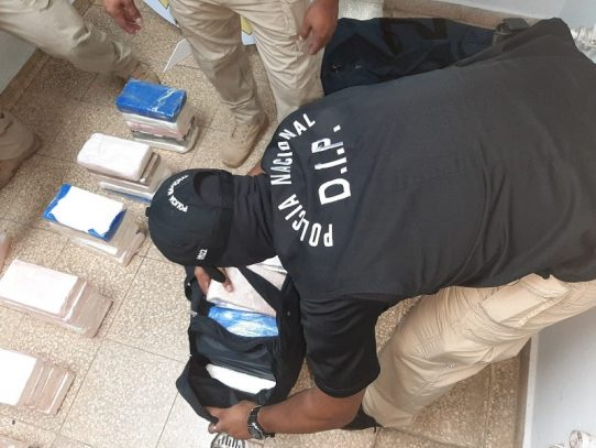 Contenedor transportaba 87 paquetes de presunta droga que irían a Canadá