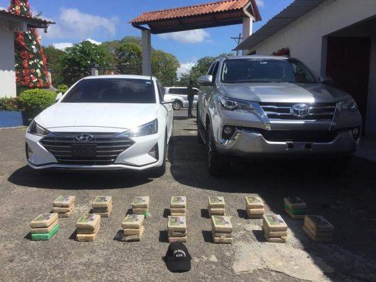 Aprehendidos por transportar varios kilos de supuesta droga en Penonomé