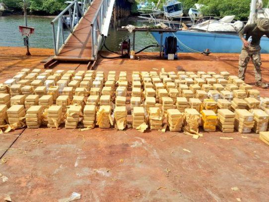 Aprehenden a tres colombianos con 712 paquetes de droga en Chiriquí