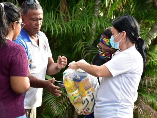 Entregan 4 mil bolsas de comida en Tocumen