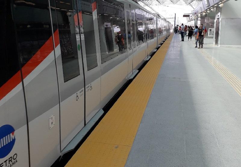 Estación Corredor Sur de la Línea 2 reinicia operaciones
