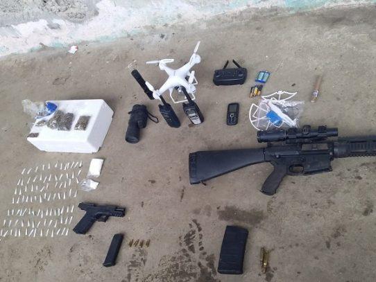 Decomisan armas de fuego tras operativo en Puerto Caimito, La Chorrera