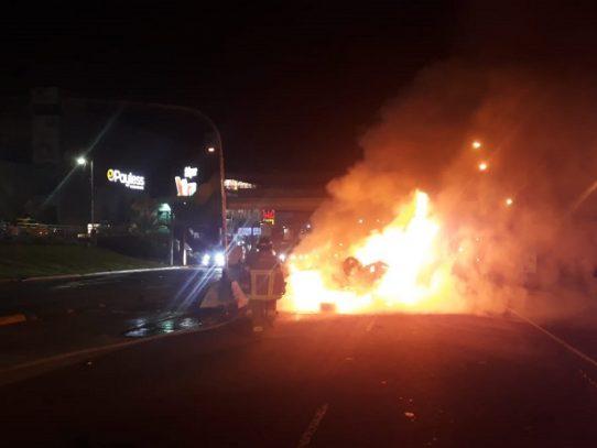 Un muerto por accidente vehicular en La Chorrera
