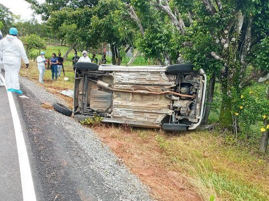 Mujer fallece en un accidente de tránsito en la provincia de Chiriquí