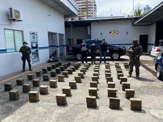 Condenado a 108 meses de prisión por transportar droga en los manglares de Costa del Este