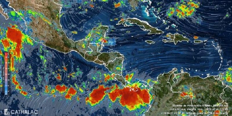 Aviso de prevención por tormentas y lluvias las próximas 48 horas