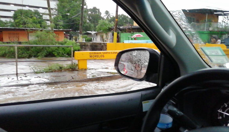 Al menos 8 viviendas afectadas por estragos de la lluvia en Ciudad de Panamá