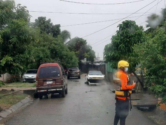 Sinaproc registra 45 viviendas afectadas producto del mal tiempo