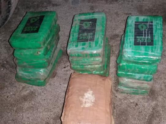 Decomisan 18 paquetes con droga en la provincia de Coclé