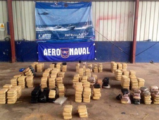 Incautan 465 paquetes con droga en playa La Pacora en Coclé