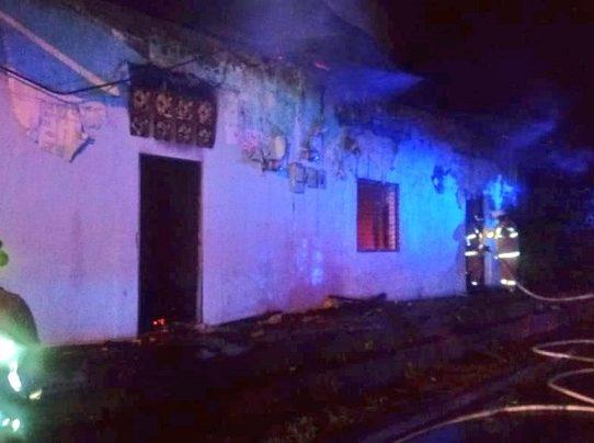 Bomberos sofocan dos incendios en la provincia de Chiriquí